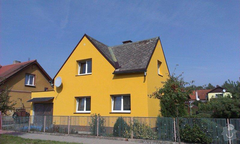 Zhotovení zateplovací fasády rodinného domu.: IMAG0865