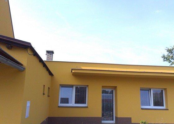 Zhotovení zateplovací fasády rodinného domu.