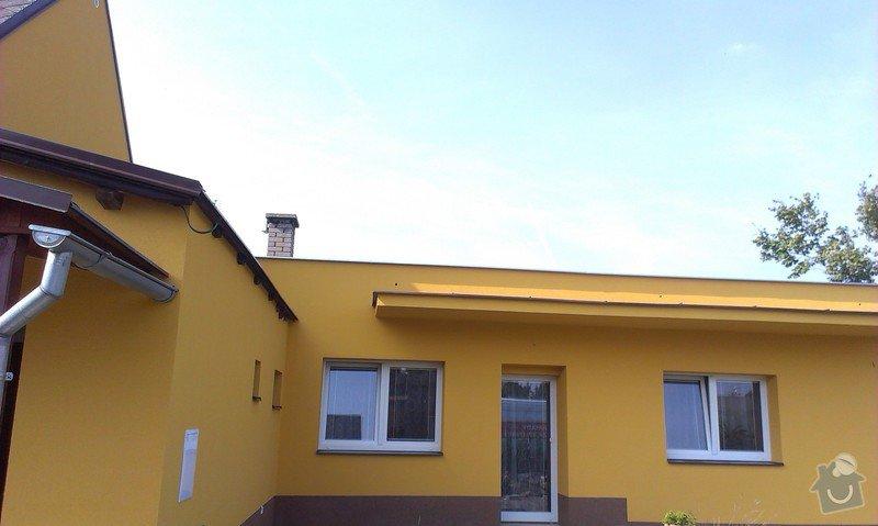 Zhotovení zateplovací fasády rodinného domu.: IMAG0869