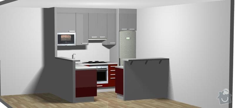 Zhotoveni kuchyne: kuchyn