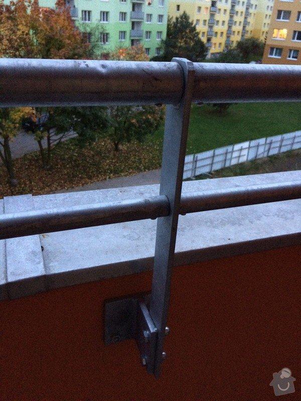 Malou stavební úpravu lodžie - posun zábradlí: Lodzie_stred