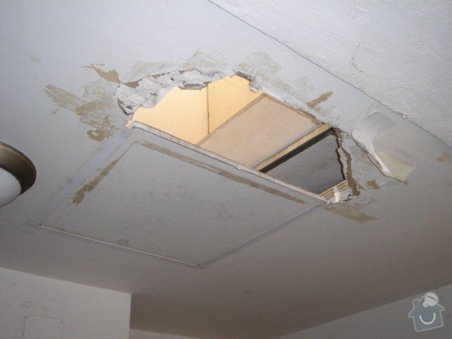 Stavební práce - opravy činžovního domu: 9