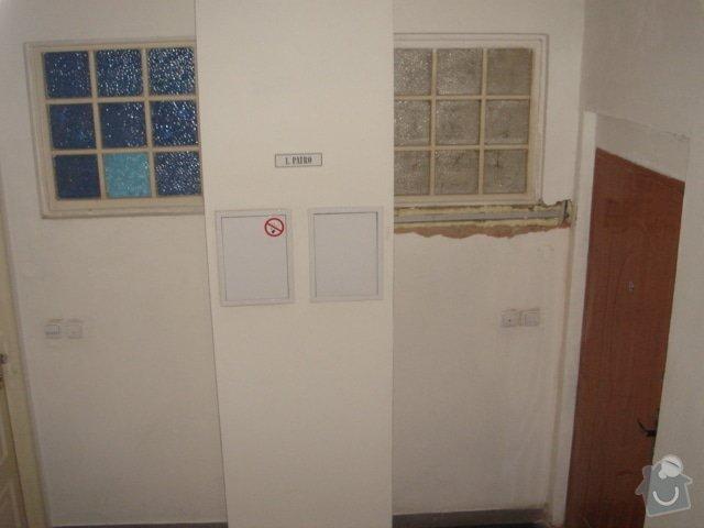 Stavební práce - opravy činžovního domu: 10