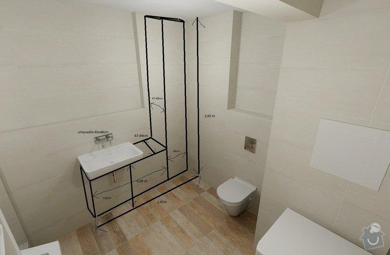 Koupelnovy nabytek: skrinky_koupelna