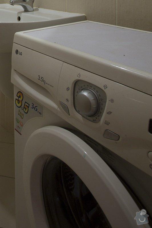 Vyčištění pračky: pracka