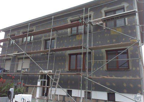 Zateplení bytového domu,fasádu a drobné zednické opravy