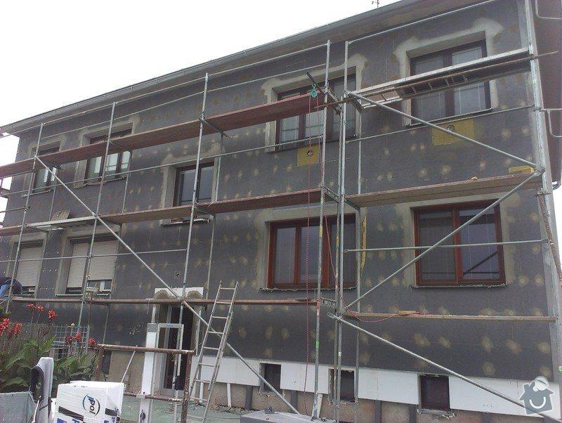 Zateplení bytového domu,fasádu a drobné zednické opravy: zhotoveni-zateplovaci-fasady-bytoveho-domu_IMAG0889