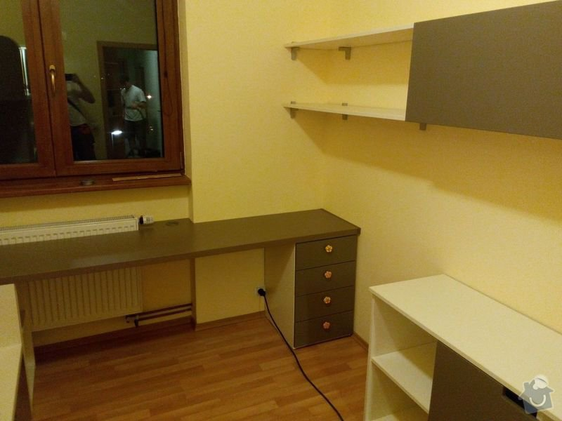Výroba dětského pokoje, vestavěné skříně + malování : IMG_20140709_223723