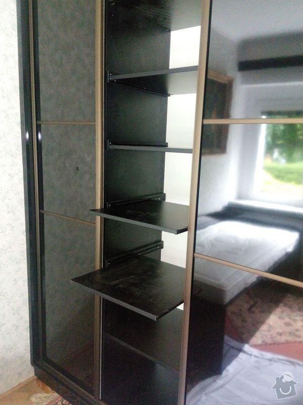 Výroba a montáž vestavěné skříně a postele: IMG_20140602_120541