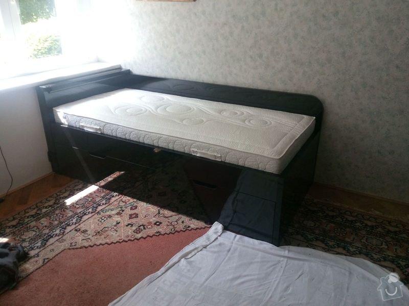 Výroba a montáž vestavěné skříně a postele: IMG_20140602_120220