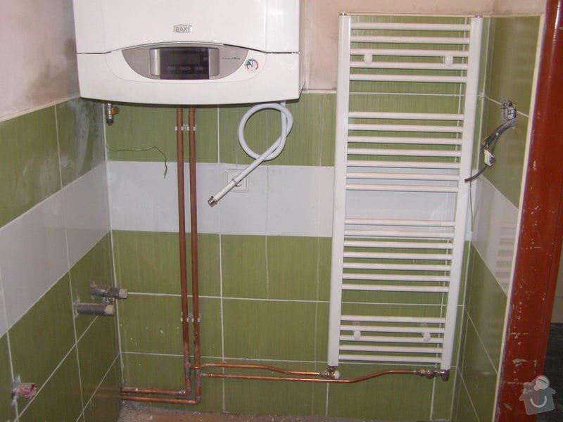 Montáž ústředního topení a plynového kotle: P2040013