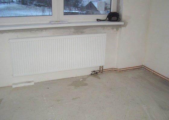 Montáž ústředního topení a plynového kotle