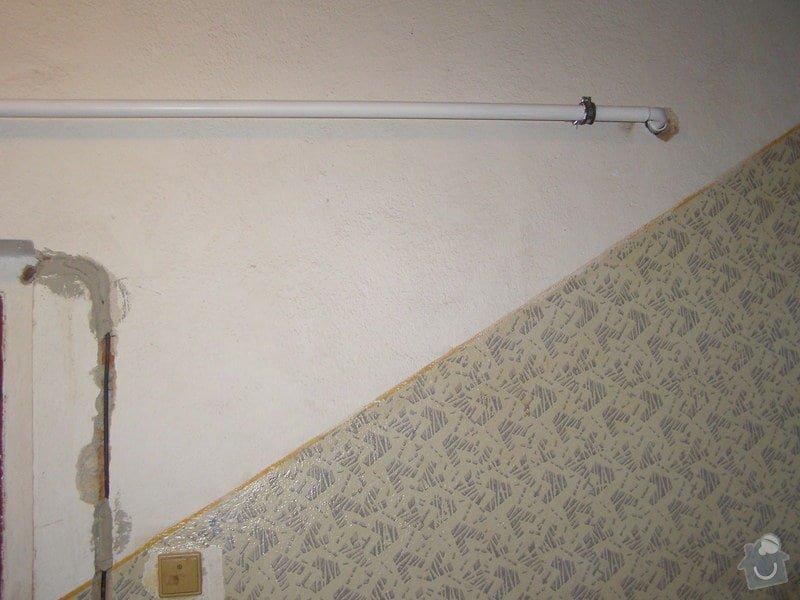 Montáž ústředního topení a plynového kotle: P2040020