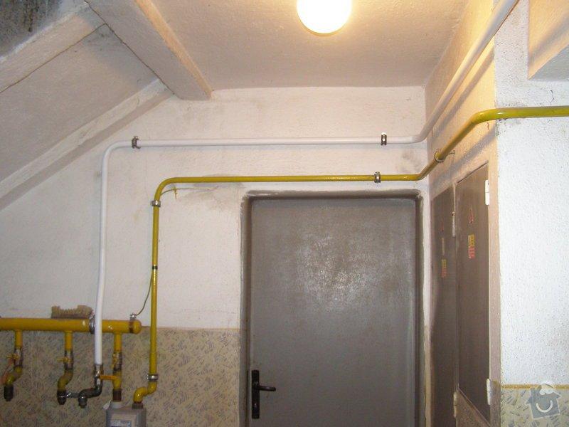 Montáž ústředního topení a plynového kotle: P2040024