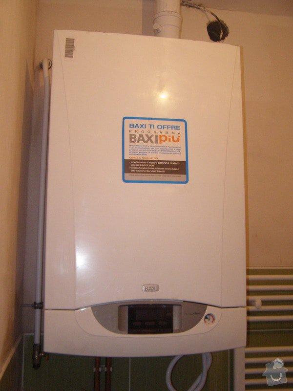 Montáž ústředního topení a plynového kotle: P2040014