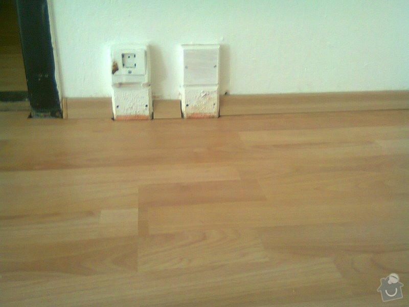 Pokládka pl. podlahy, malířské práce: Fotografie0170