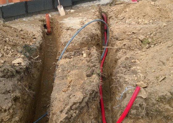 Inženýrské sítě RD + základ plotu