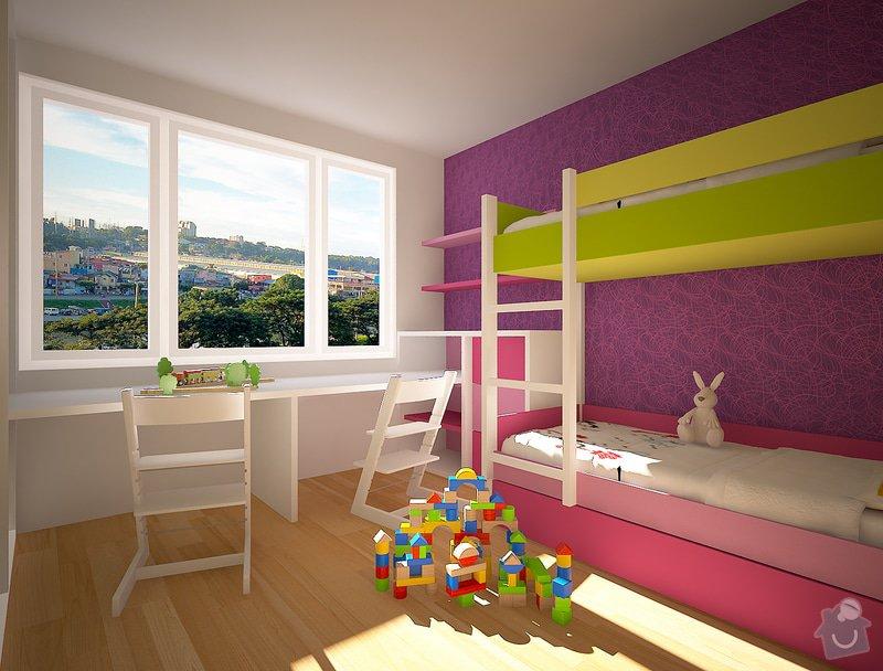 Dětský pokojíček- skříně, postele: Velebni_001