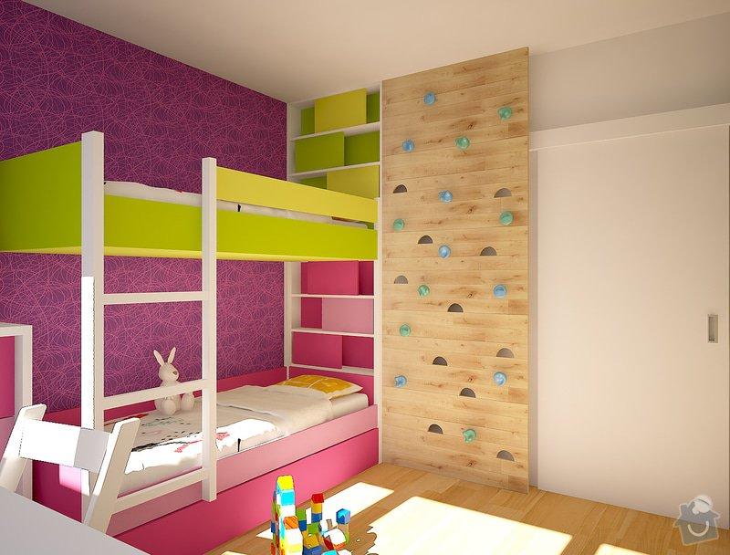 Dětský pokojíček- skříně, postele: Velebni_003