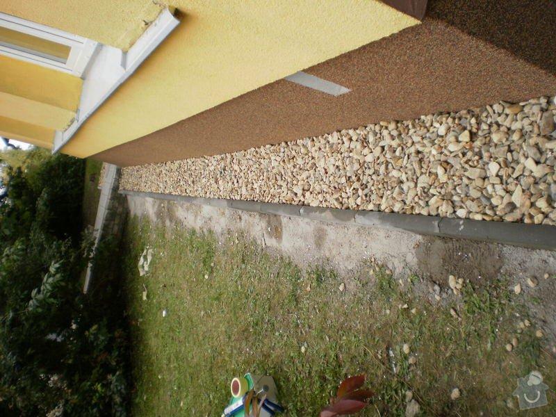 Hydroizolace střechy, oprava chodníku, fasády: 20111019_43