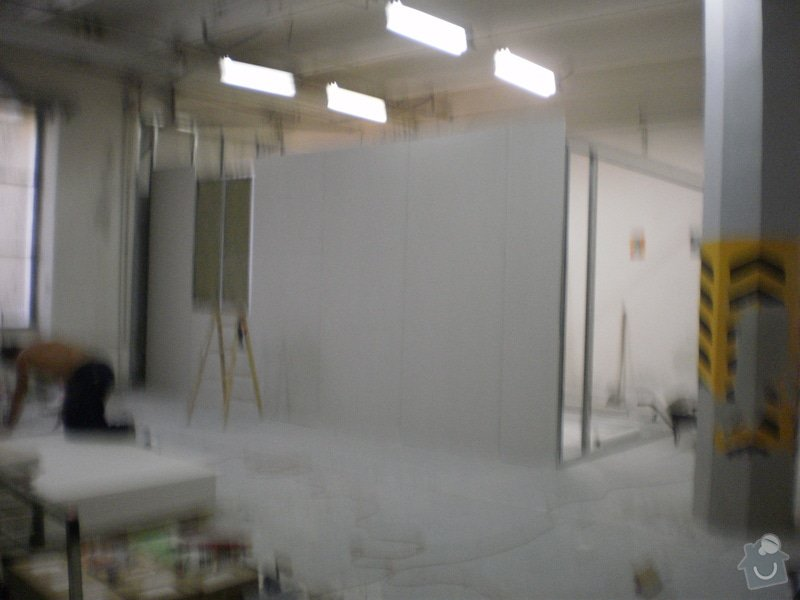 Opravy a přestavby kancelářských místností: 20100803_13