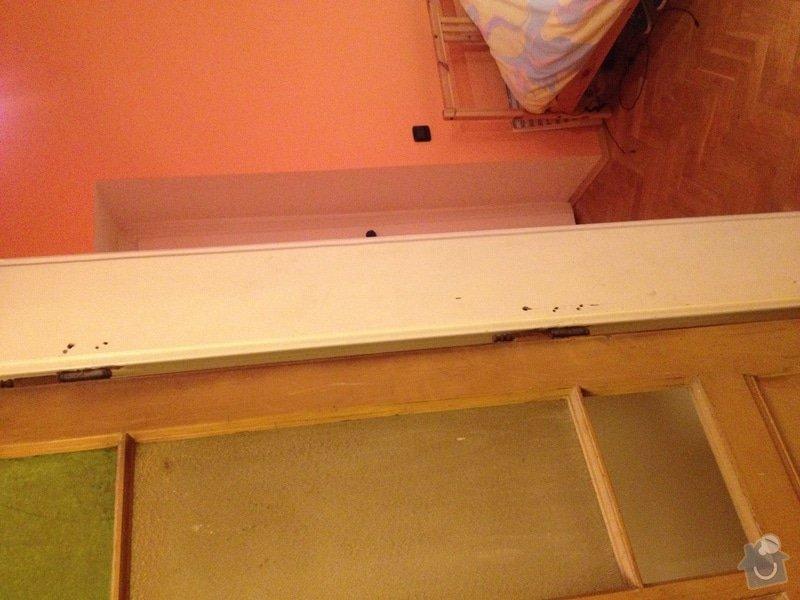 Oprava (zasklení, vykytování) a nalakování dveří 220x95 cm: IMG_2866