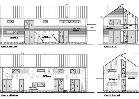 Projekt RD pro stavební povolení