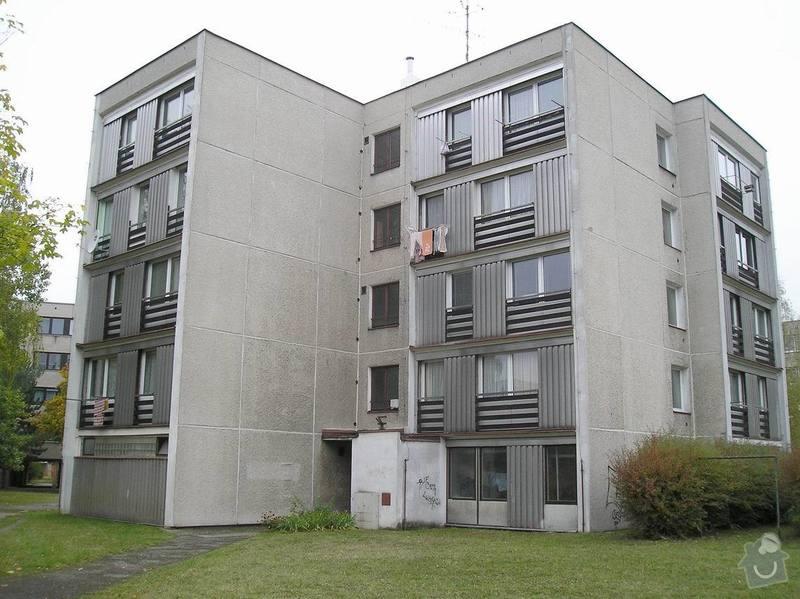 Projekt zateplení stávajícího panelového bytového domu: 04_foto_puvodni_stav