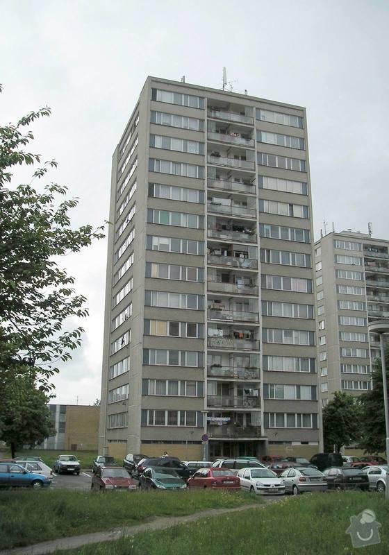 Projekt kompletního zateplení panelového bytového domu s rozšířením stávajících lodžií: 02a