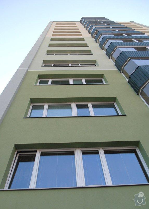 Projekt kompletního zateplení panelového bytového domu s rozšířením stávajících lodžií: 05
