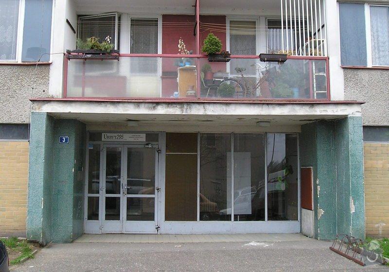 Projekt kompletního zateplení panelového bytového domu s rozšířením stávajících lodžií: 07a