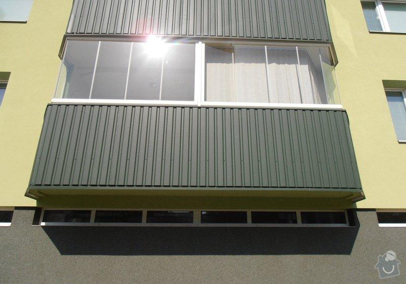 Projekt kompletního zateplení panelového bytového domu s rozšířením stávajících lodžií: 08