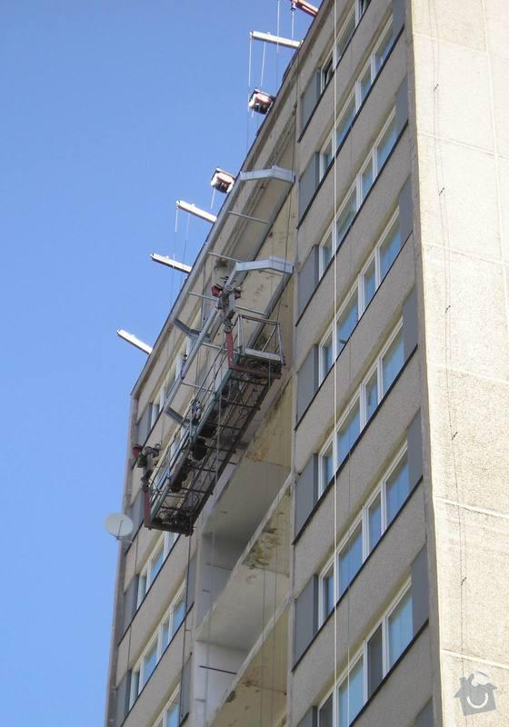 Projekt kompletního zateplení panelového bytového domu s rozšířením stávajících lodžií: 10