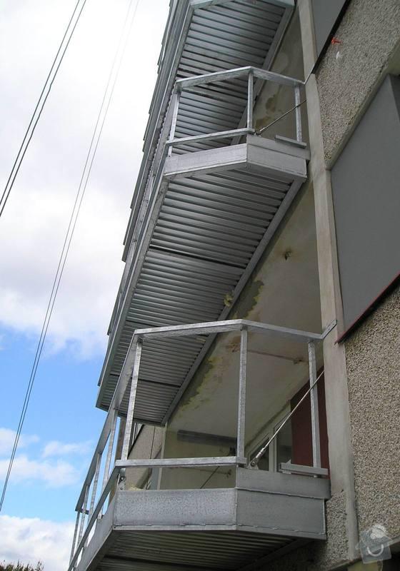 Projekt kompletního zateplení panelového bytového domu s rozšířením stávajících lodžií: 11