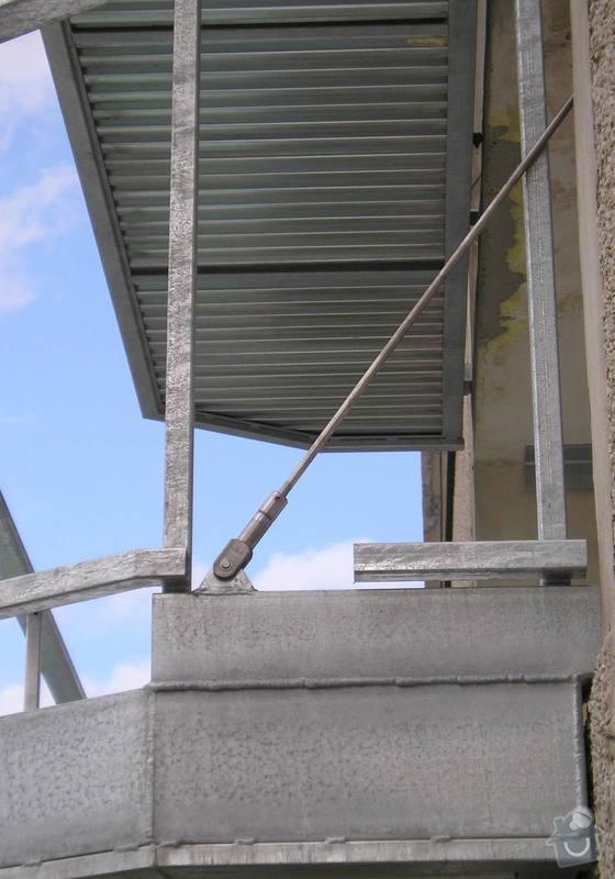 Projekt kompletního zateplení panelového bytového domu s rozšířením stávajících lodžií: 12