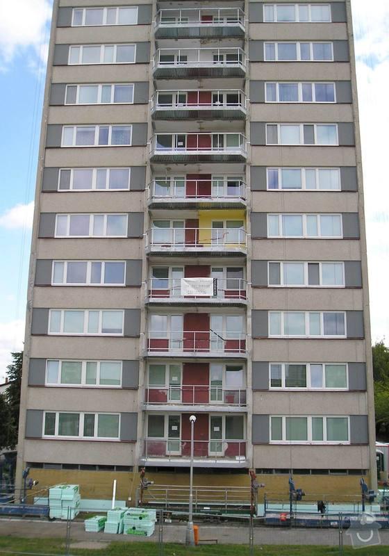 Projekt kompletního zateplení panelového bytového domu s rozšířením stávajících lodžií: 13