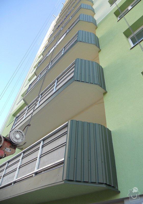 Projekt kompletního zateplení panelového bytového domu s rozšířením stávajících lodžií: 16
