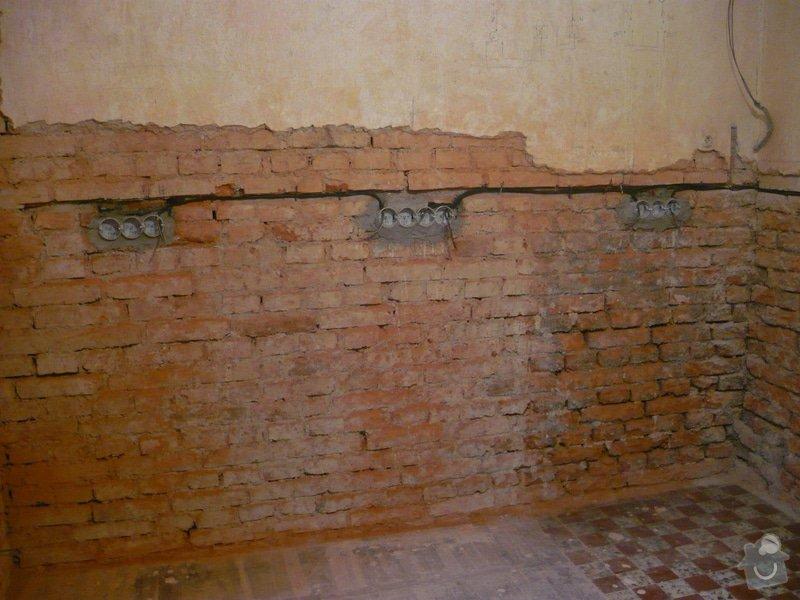 Zednické práce - omítky kuchyně, úprava proti vzniku plísní: P1040690