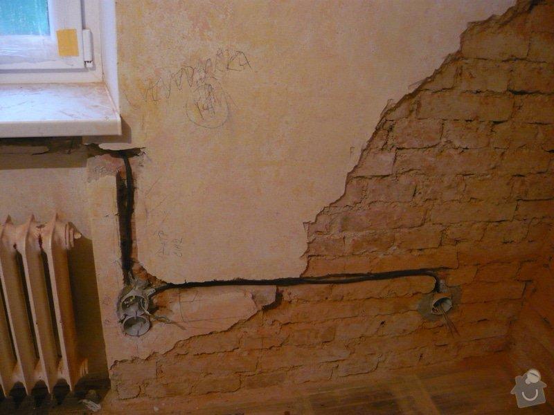 Zednické práce - omítky kuchyně, úprava proti vzniku plísní: P1040691