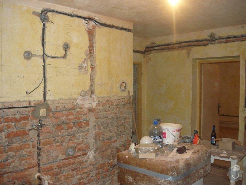 Zednické práce - omítky kuchyně, úprava proti vzniku plísní: P1040704