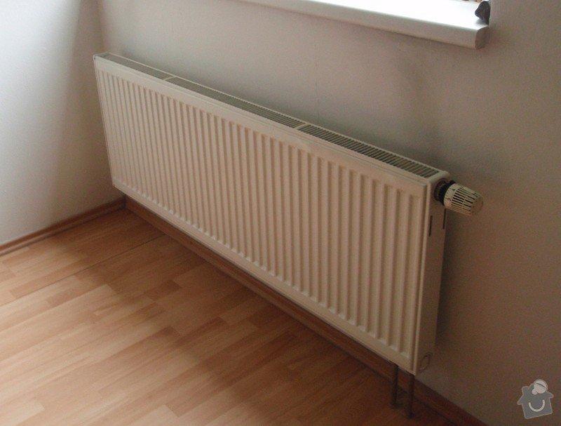 Výměna radiátorů: zamenovany_radiator