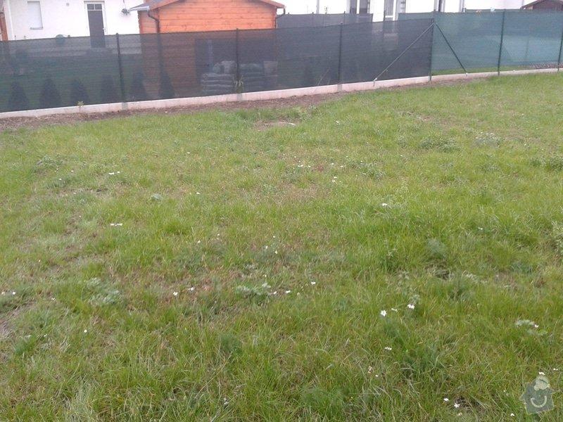 Stavba drátěného plotu u ŘRD: 20141026_161948