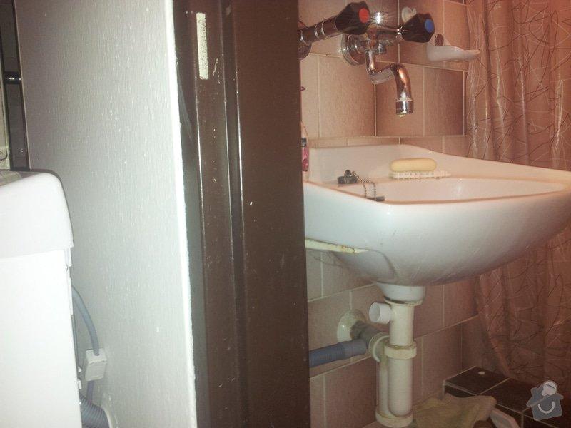 Poptávka na připojení pračky: koupel1