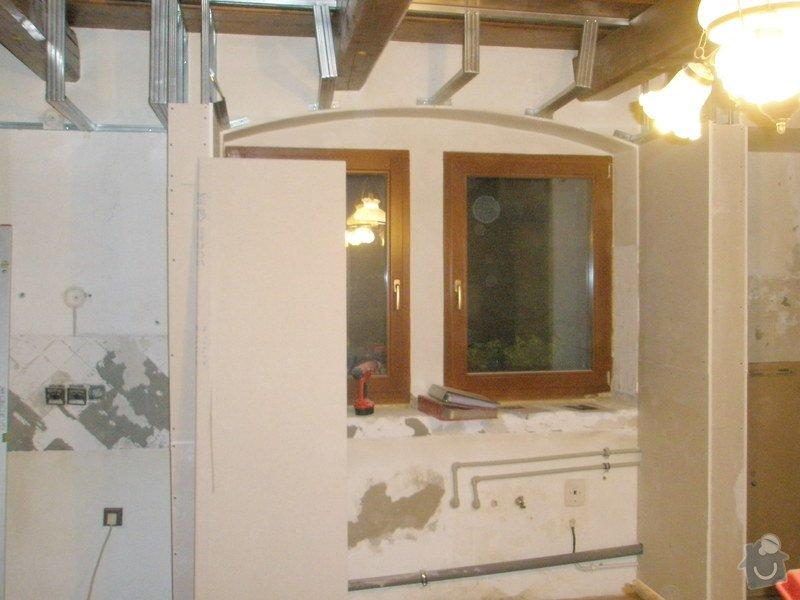 Rekonstrukce kuchyně, obyvacího pokoje a stavba prodejny: P5040283