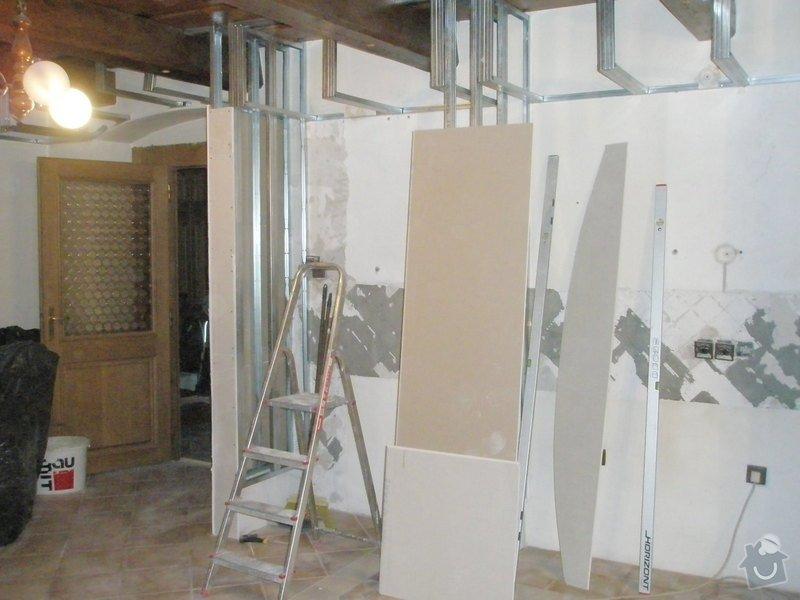 Rekonstrukce kuchyně, obyvacího pokoje a stavba prodejny: P5040284