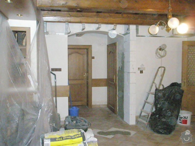 Rekonstrukce kuchyně, obyvacího pokoje a stavba prodejny: P5040285