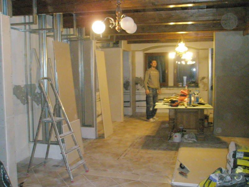 Rekonstrukce kuchyně, obyvacího pokoje a stavba prodejny: P5040290