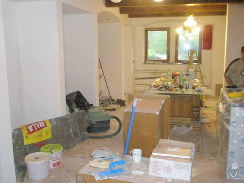 Rekonstrukce kuchyně, obyvacího pokoje a stavba prodejny: P5180291