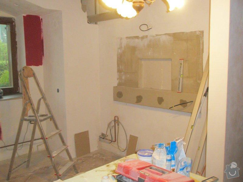 Rekonstrukce kuchyně, obyvacího pokoje a stavba prodejny: P5180297