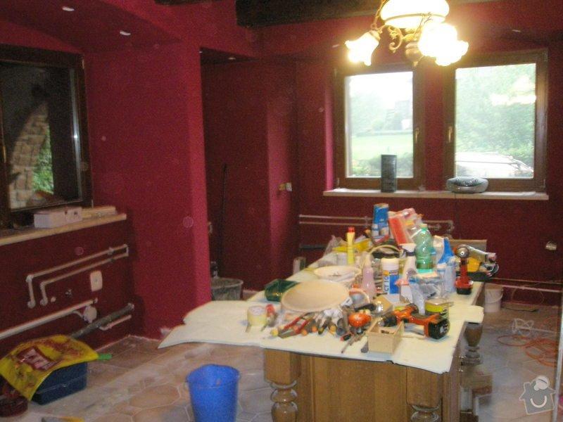 Rekonstrukce kuchyně, obyvacího pokoje a stavba prodejny: P5220301